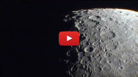 Video: Der Mond im Riesenfernrohr auf astw.de ansehen