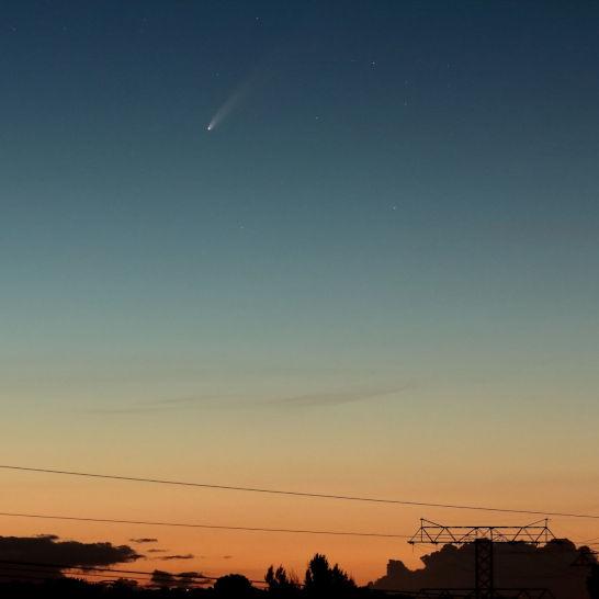 Komet NEOWISE am 11.7.2020