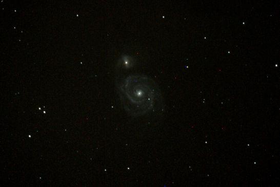 Messier 51, Foto: Alexander Görbing